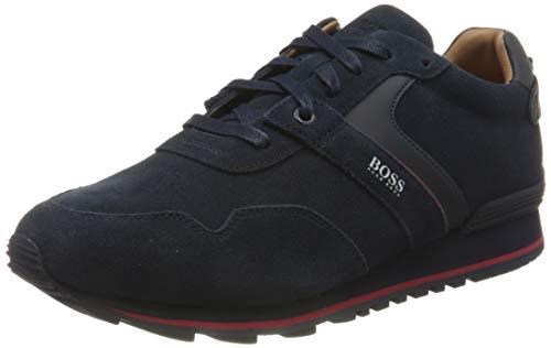 BOSS Herren Parkour_Runn_sdwr 10223357 01 Sneaker, Blau (Dark Blue 401), 43 EU