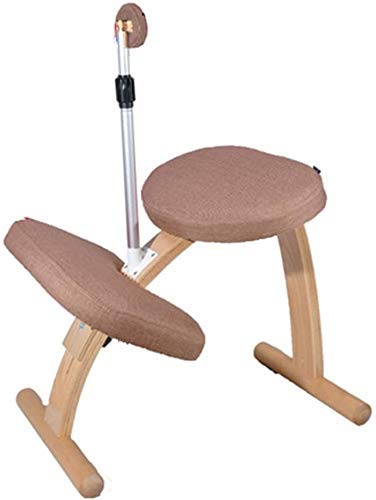 LEILEI Child Posture Correction Chair Ergonomic Kneeling Seat Office Correction Posture Sitting Can Be Raised and Lowered Creative children learning chair kneeling seat (Color :08)
