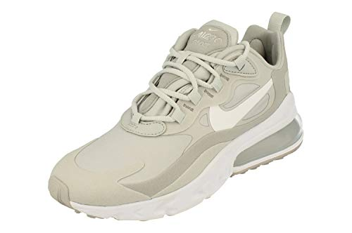 Nike Air MAX 270 React Mujeres Running Trainers CW5375 Sneakers Zapatos (UK 6.5 US 9 EU 40.5, Grey Fog Light Smoke Grey 001)