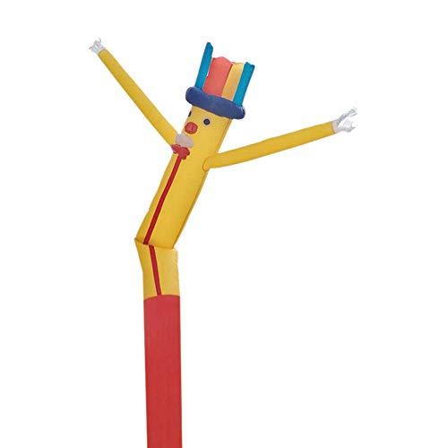 Faltbare Hüpfburg Dancer Anlage, Spaß Riesen Air Spielzeug Partyangebot for Indoor- und Outdoor-Deko, Display, Halloween (kein Gebläse) 8bayfa (Color : B, Size : 5m/16.5ft)