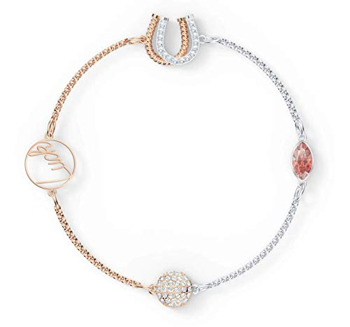 SWAROVSKI Authentic Remix Collection Luck Strand, Red Mixed Metal Plated, Medium