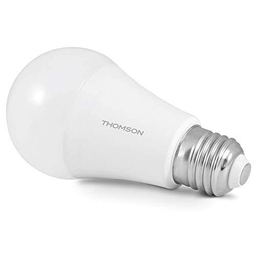 THOMSON 520023 Ampoule connectée WiFi Ambiance Blanche et colorée Type E27, Blanc