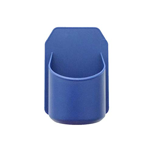 Adore store Tragbare Dusche Getränkehalter für alle Dosen Bier & Wein Silikon Getränkehalter Griffe Beliebig Glänzendes Badoberfläche Blau