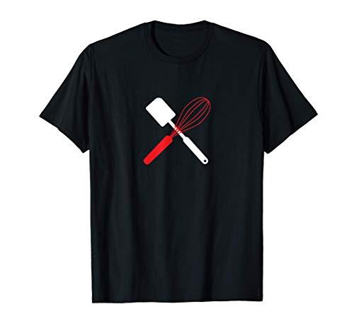 Fouet à pâtisserie Racloir à pâte T-Shirt