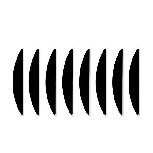 DOXILA Rutschfeste Teppich-Pads, waschbare Teppich-Greifer, hochviskose, rutschfeste Teppichgriffe, hält Ihren Teppich an Ort und Stelle und macht Ecken flach (8 Stück)