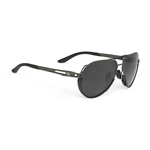 Gafas de sol Skytrail, negro (Gun Matte/Polar 3fx Gris), Talla única