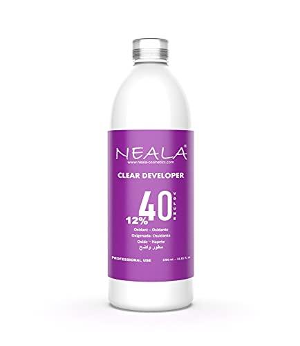 NEALA ossidante 40 vol 12% arricchito e profumato - Acqua ossigenata per capelli, 1 litro
