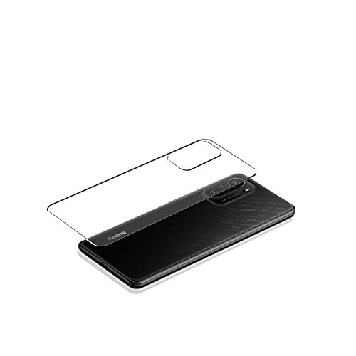 VacFun 2 Piezas Protector de pantalla Posterior, compatible con Xiaomi Redmi K40 Pro+, Película de Trasera de TPU