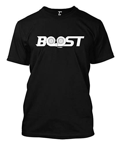 Boost - Twin Turbo Street Racing Men's T-Shirt (Black, Large)