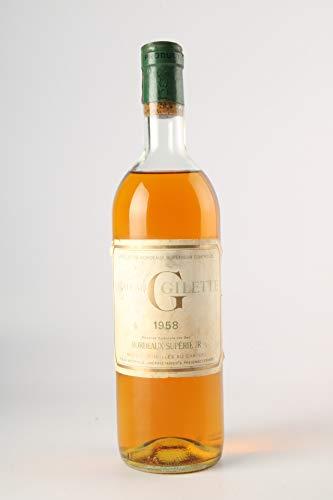 G de GILETTE Réserve Vin Sec 1958