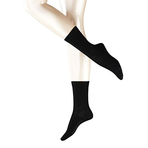 Falke Damen Socken Family 2er Pack, Größe:35-38;Farbe:Black (3009)