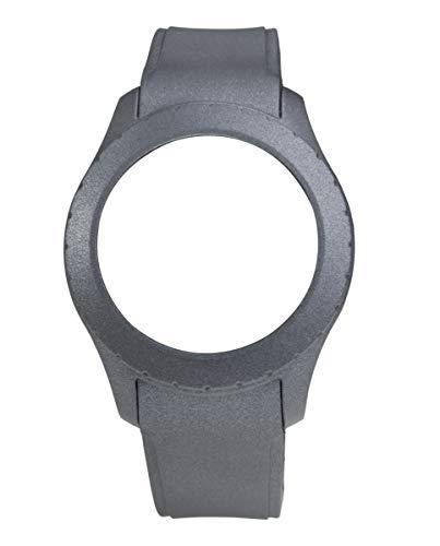 Correa de silicona de Watx. Modelo Smart Ivory / Metal grey / 49mm. Referencia COWA3708.