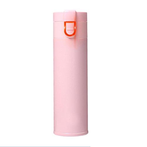 Tasse d'isolation Iggiqy996q- Hommes Femmes Smart Mug étudiant coréen personnalité Simple Tasse Creative Trend Portable Cup