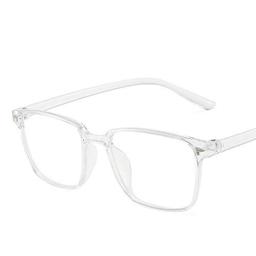 Gafas Ópticas De Montura Cuadrada Para Mujer, Gafas Anti Luz Azul Para Hombres, Gafas Transparentes Para Ordenador, Protección Ocular, Gafas Para Juegos