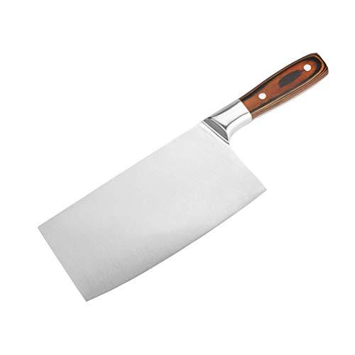 Rebanador Cleaver 4CR13 Super Sharp Blade Cocina Chef Cuchillos China Forjado Cuchillo Multifunción Cocina Tajado Cuchillos
