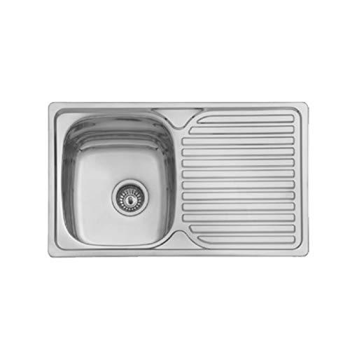 Fregadero de Acero inoxidable AIS1 304-1 Seno/Cubeta y Escur