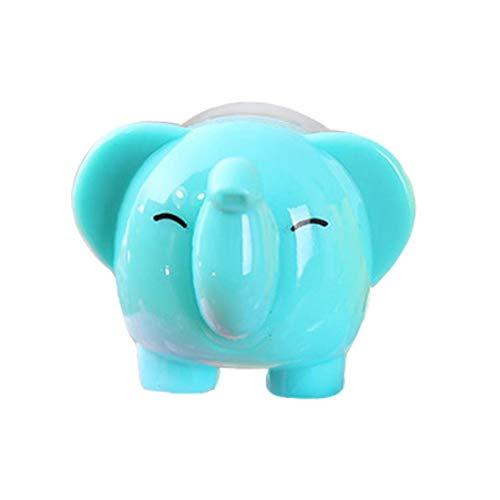 LAVALINK Sacapuntas No Slip Herramienta Estudiantes Regalo De Los Niños Pequeños Efectos De Escritorio De Dibujos Animados Elefante Sacapuntas Escuela De Papelería Regalo para Cabrito