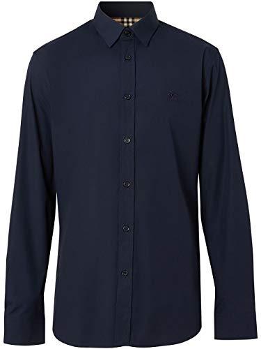 BURBERRY Luxury Fashion Herren 8024525 Blau Hemd |