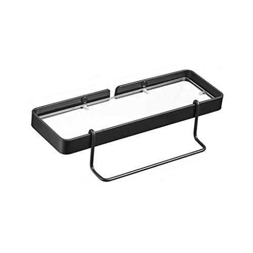 CS-LJ Bad Glas Regal Spiegel Front Frame Handtuchhalter (Size : 35CM)