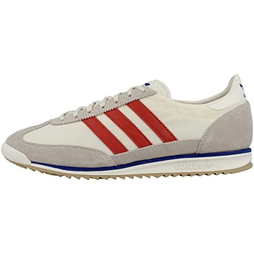 adidas SL 72, Zapatillas Hombre, Chalk White/Red/Power Blue, 42 EU