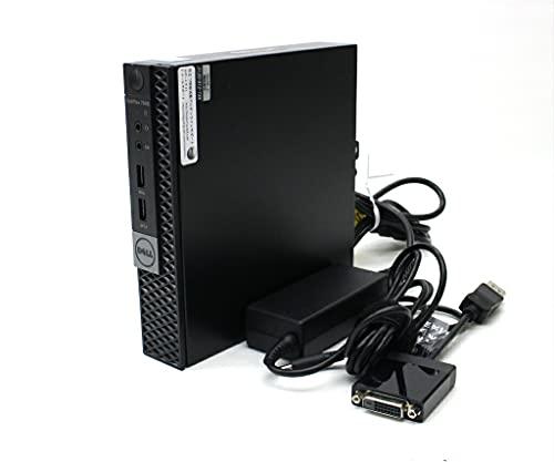 DELL OptiPlex 7040 Micro Core i5-6500T 2.5GHz 8GB 256GB(SSD) HDMI DisplayPort x2出力 Windows10 Pro 64bit