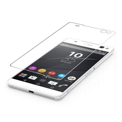 Unbreakable Screen Protector for Sony Xperia C5 Ultra (Far Better Than Tempered Glass) with Impossible Anti Shock and Hammer Proof Protection