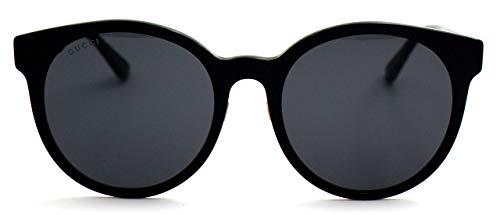 Fashion Shopping Gucci GG0416SK Black/Grey One Size