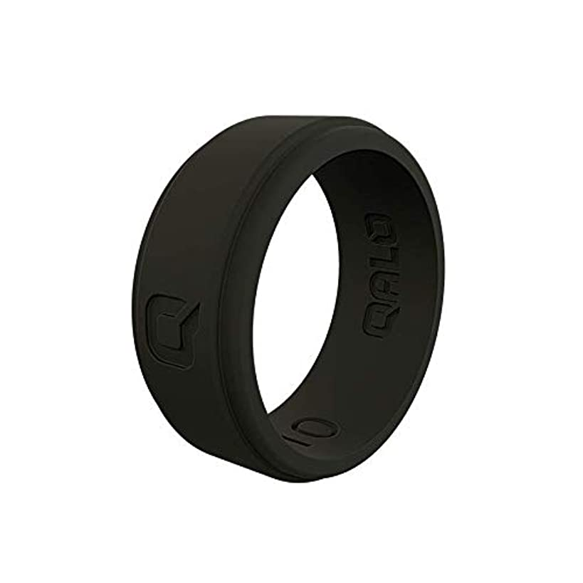 QALO Men's Strata and Step Edge Silicone Ring Collections