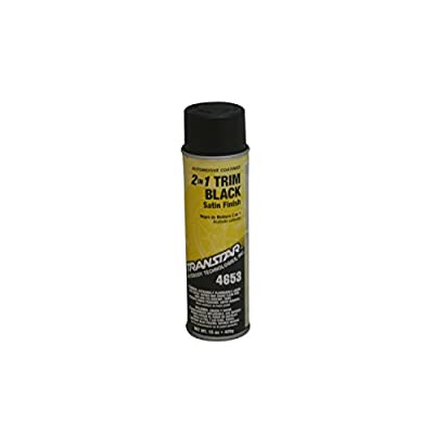 Transtar 4653 Satin Black 2-in-1 Trim Coating - 20 oz.