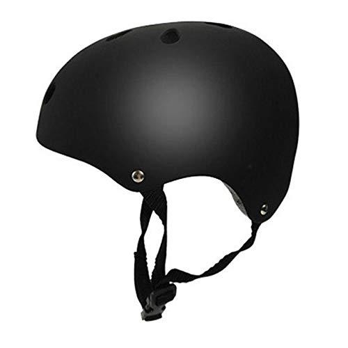 Miroir Casque de vélo pour adultes, réglable Circonférence de la tête, des matériaux résistant aux chocs Casques pour les adultes, Convient pour Ville, Route, électrique, randonnée pédestre, ski,Noir