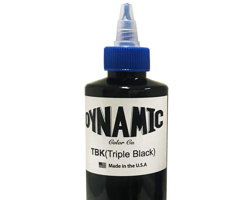 Dynamic Color Triple Black Tattoo Ink 1-oz