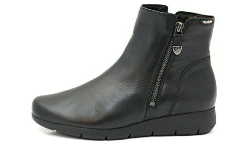 Mephisto Women (Foot Foundation), Bottes pour Femme - Noir - Noir, 36.5 EU