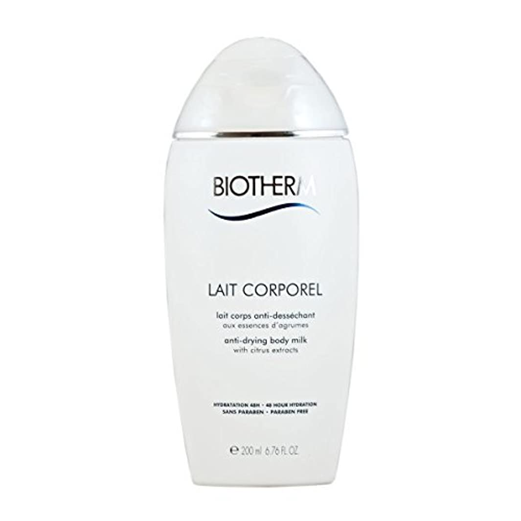 特に細部中にBiotherm Lait Corporel Anti-Drying Body Milk 6.76 Ounce [並行輸入品]