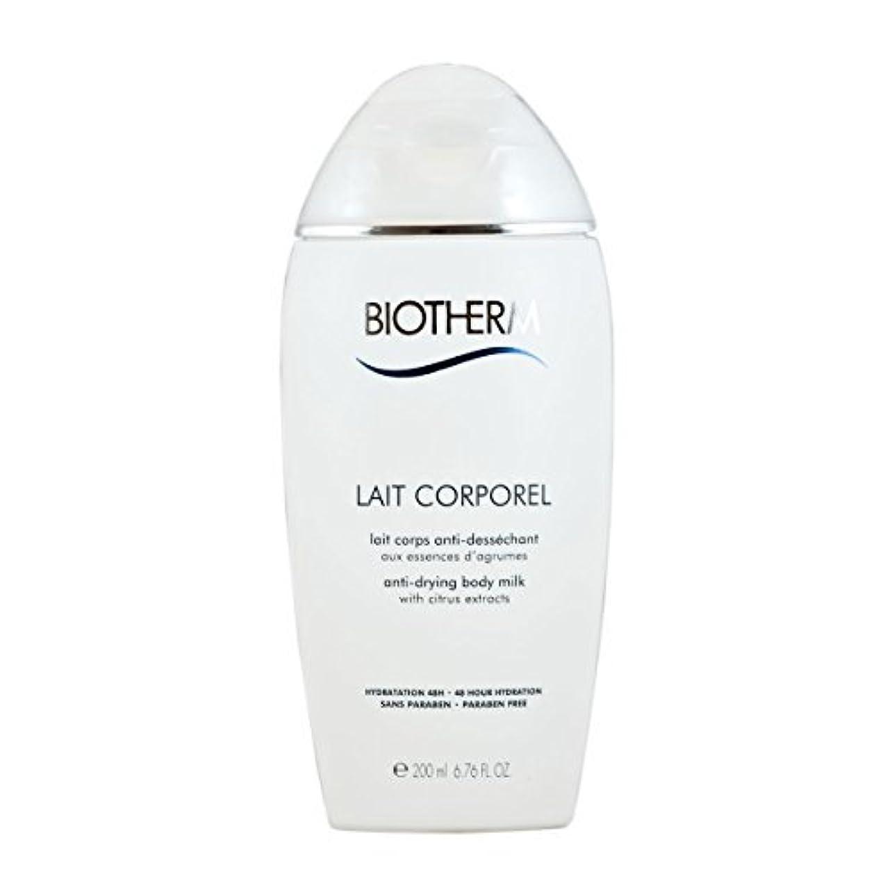 タクト草黒くするBiotherm Lait Corporel Anti-Drying Body Milk 6.76 Ounce [並行輸入品]