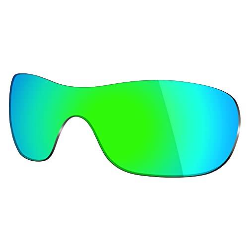 Mryok Lentes de repuesto para Oakley Liv - Opciones, Polarizado - Verde esmeralda, Talla única