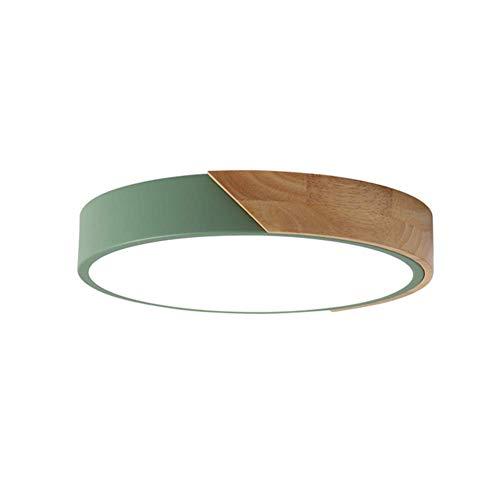 PLAFONIERA LED TONDO TRICOLORE CON Dimmeratore di intensità per montaggio a incasso, verde, 12'