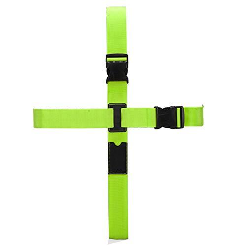 BlueCosto (Verde) Cross Cinghie per valigie Bagagli Borse Cintura Accessori da viaggio