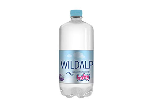 Babywasser WILDALP natürliches Quellwasser natriumarm, streng kontrolliert, pur oder zur Nahrungszubereitung ohne Abkochen (24 x 1 Liter)