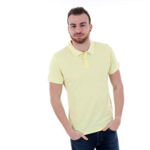 Pepe Jeans Polo Hombre Amarillo PM541132 Vincent GD - 020 Lime Yellow