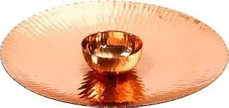 Copper Finish Godinger Chip and Dip Serving Set