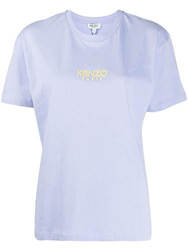 Luxury Fashion | Kenzo Dames FA52TS95593765 Blauw Katoen T-shirts | Lente-zomer 20