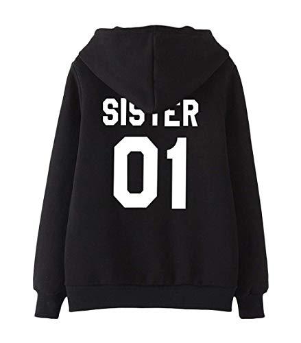 Best Friends Freundinnen Schwestern SISTER 01//02 BLOOD Girlie Partner Hoodies