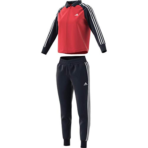 adidas Womens Gametime Tracksuit, Glory Red/Legend Ink, M