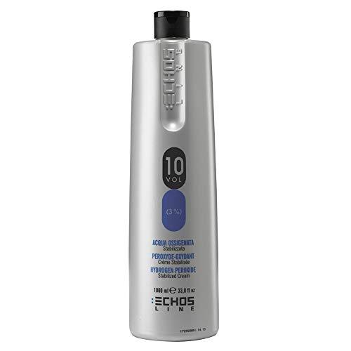 Oxydant parfumée - Oxydant en crème - 10 Volume - Made in italy 1000ml - Echos line - Inebrya