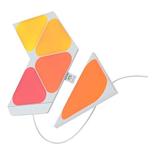 Nanoleaf Shapes Mini Triangles Starter Kit - 5 Mini Triángulos Luminosos