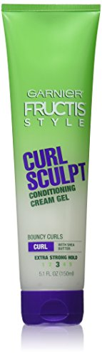 Garnier Fructis Style Curl Sculpting Cream-Gel, Extra Strong, 5 OZ. (142 g) (Haargel)