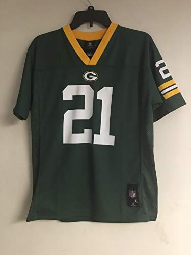 Charles Woodson Green Bay Packers Reebok Youth Jersey Size L 14-16 Team Apparel