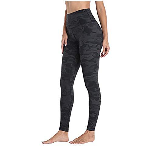Sonnena Leopardo Mallas Deportivas Leggings Cintura Alta Push up Vestir con Bolsillos para Mujer Pantalones Largos de Yoga
