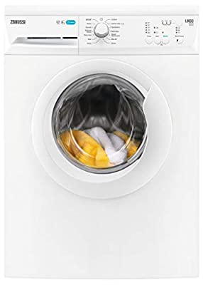 Zanussi ZWF81240NW Freestanding Washing Machine, Quick Wash, 8kg Load, 1200rpm spin, White