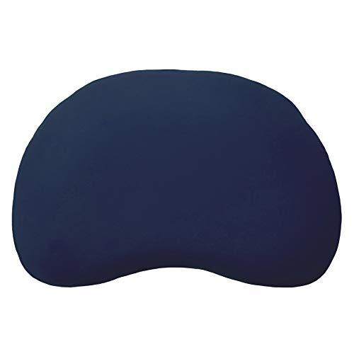 Edda Lux Bezug für Tempur Curve S/M Kissen | Jersey-Kissenbezug mit Reißverschluss | 61x40 cm | 100{a08bc93667daa3ee1e025693b40425b8b6d19cebd4c113ccd668d064f40a3882} Baumwolle | Farbe Marine